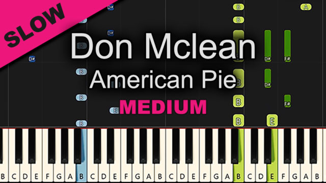 Don McLean – American Pie – Medium