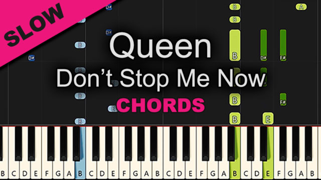 Queen – Don't Stop Me Now – Chords