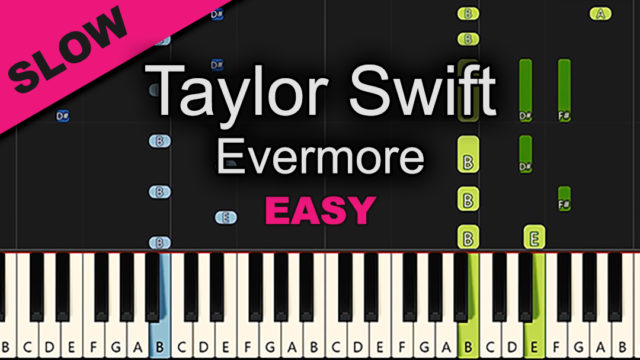Taylor Swift – Evermore – Easy
