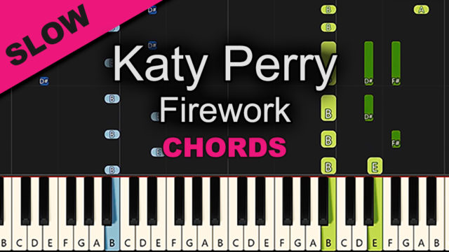 Katy Perry – Firework – Chords