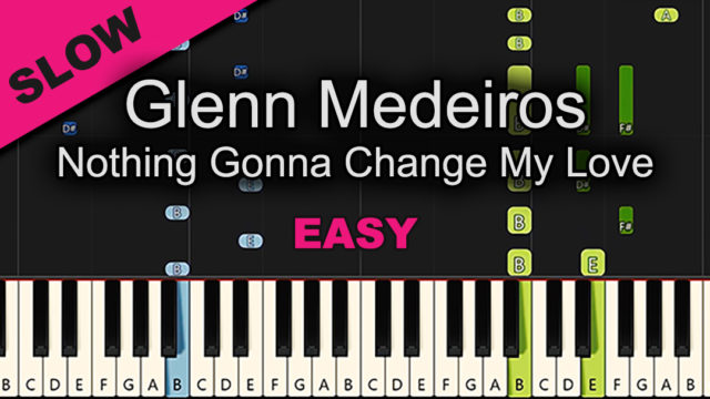 Glenn Medeiros – Nothing Gonna Change My Love – Easy