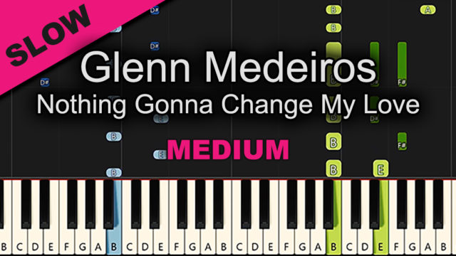 Glenn Medeiros – Nothing Gonna Change My Love – Medium