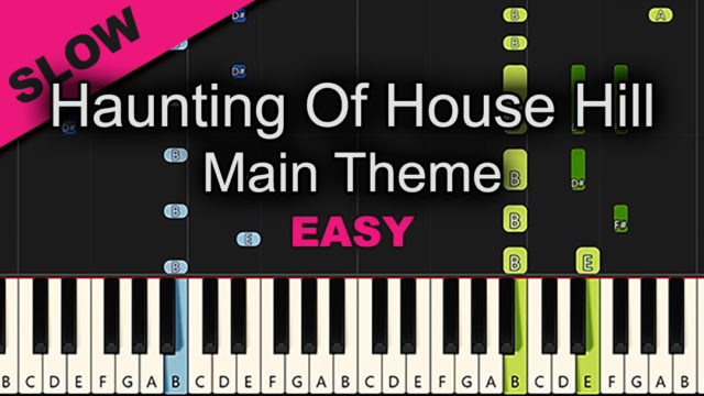 Haunting Of House Hill – Theme – Easy