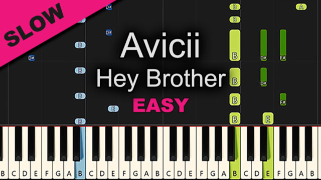 Avicii – Hey Brother – Easy