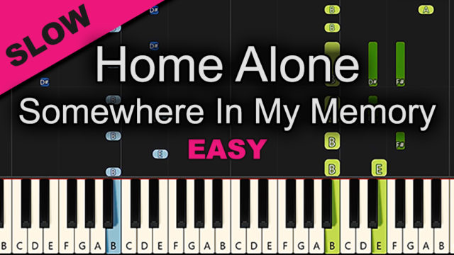 Home Alone – Somewhere In My Memory – Easy