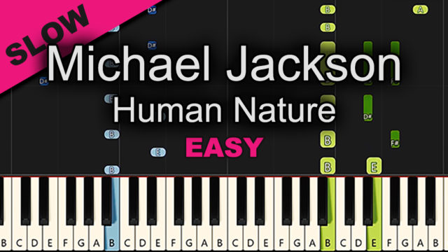 Michael Jackson – Human Nature – Easy