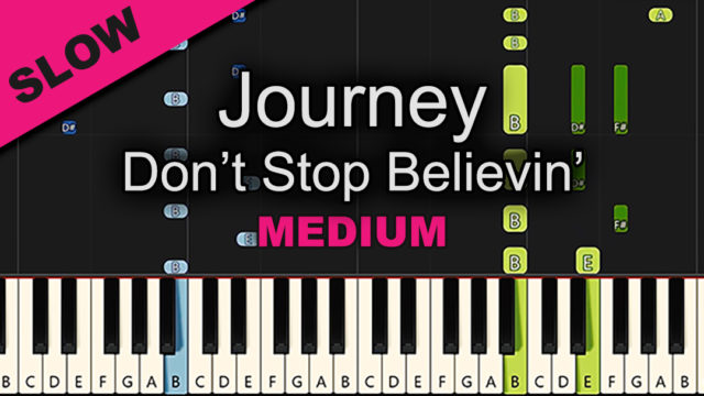 Journey – Don't Stop Believing – Medium