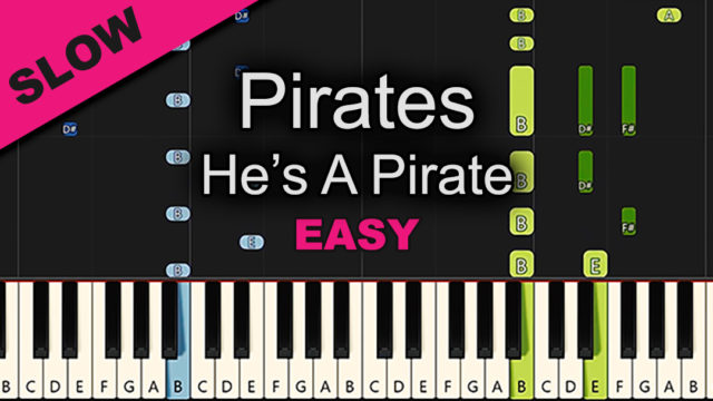 Pirates – He's A Pirate – Easy