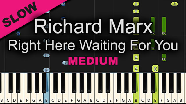 Richard Marx – Right Here Waiting For You – Medium