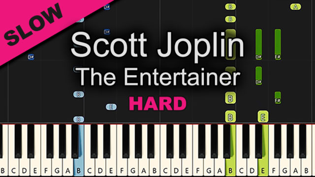 Scott Joplin – The Entertainer – Hard