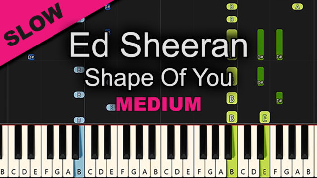 Ed Sheeran – Shape Of You – Medium