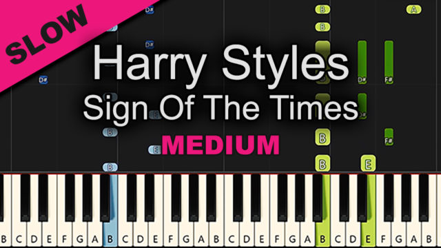 Harry Styles – Sign Of The Times – Medium