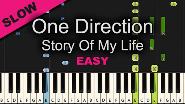 One Direction – Story Of My Life – Easy
