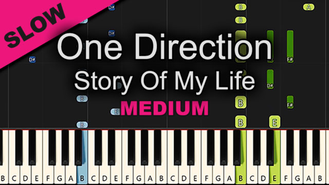 One Direction – Story Of My Life – Medium