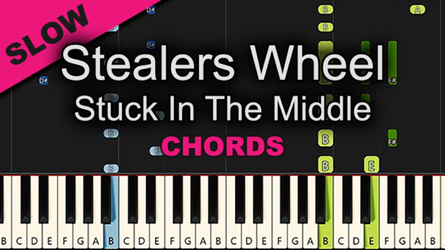 Stealers Wheel – Stuck In The Middle – Chords