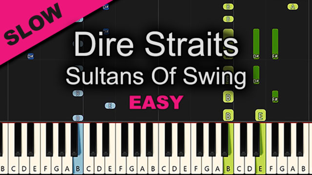 Dire Straits – Sultans of Swing – Easy