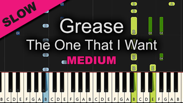 Grease – The One That I Want – Medium
