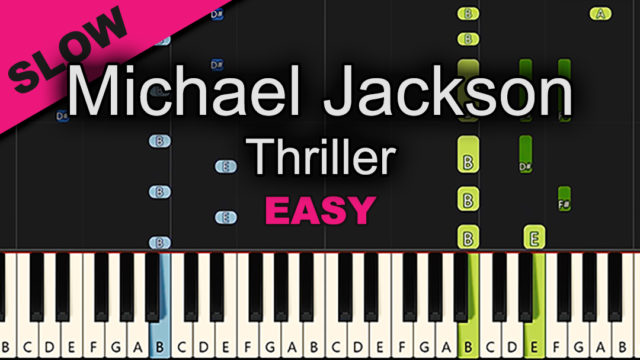 Michael Jackson – Thriller – Easy