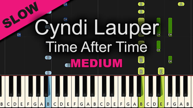 Cyndi Lauper – Time After Time – Medium
