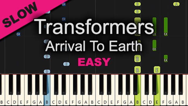 Arrival To Earth – Transformers – Easy