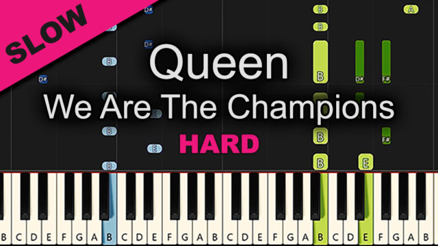 Queen – We Are The Champions – Hard