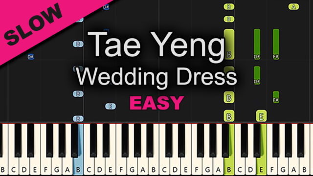 Taeyeng – Wedding Dress – Easy