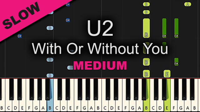 U2 – With Or Without You – Medium