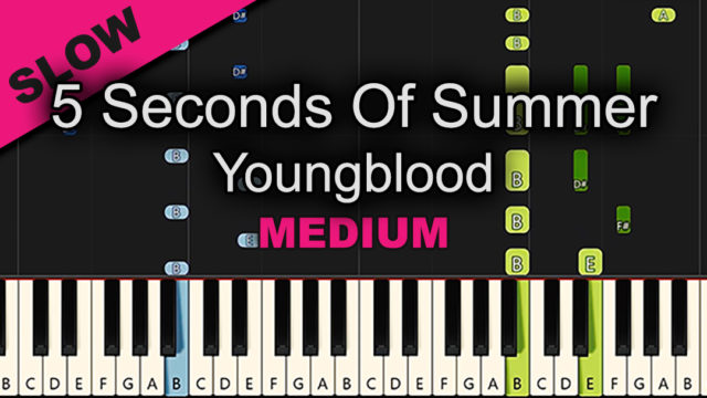 5 Seconds of Summer – Youngblood – Medium